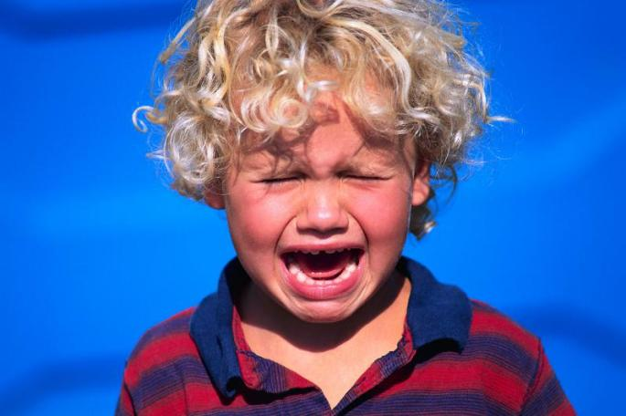 cris et pleurs d'enfant