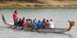 le dragon-boat une spécialité de canoé