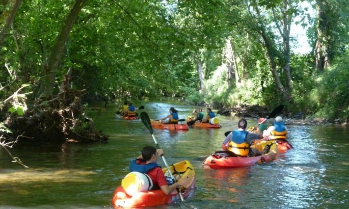 canoe-kayak au pays basque
